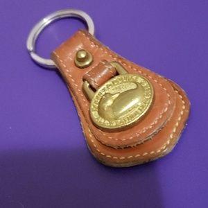 Dooney & Bourke vintage key chain